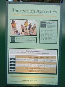 If you use online check-in to go directly to your room, be sure you don't miss out on information about resort activities.