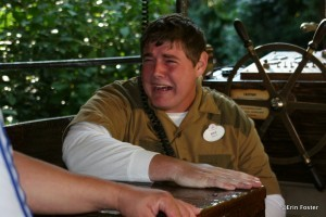 Even if your in-park cast member experience is so good that it makes you cry, you still can't offer them a tip.