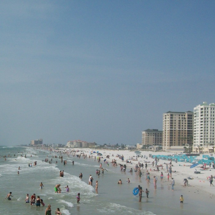 Clearwater Beachfront Hotels & Beach