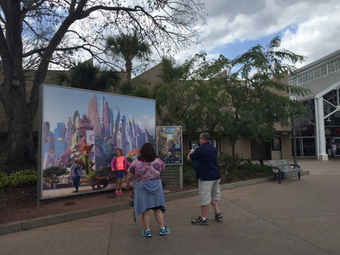 Zootopia photo opportunity