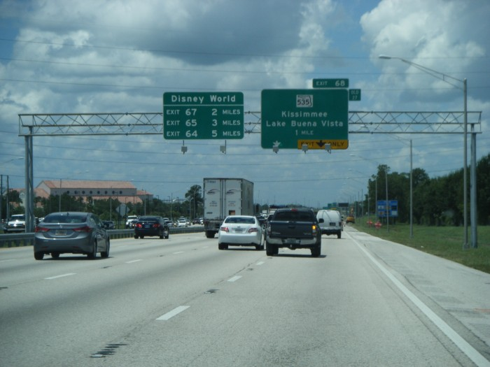 Interstate 4 Overhead Signs
