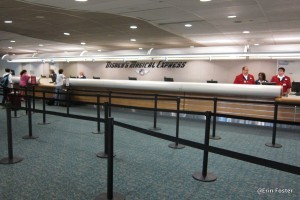 MagicalExpress help desk at MCO.
