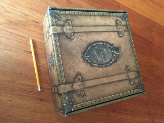 Inner box, pencil for scale.