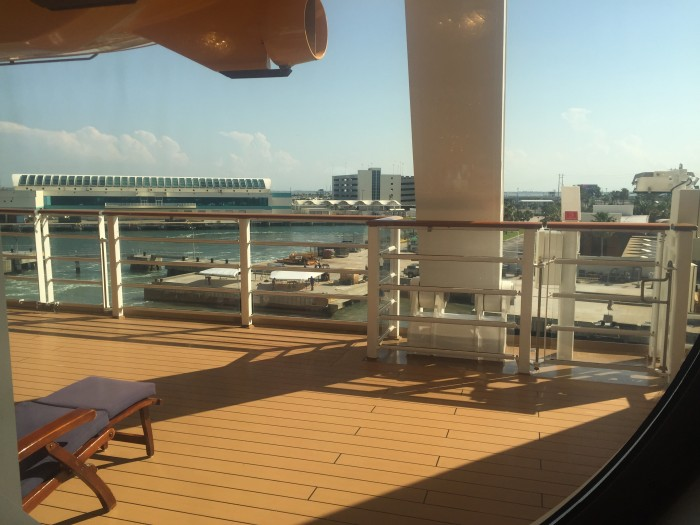 An air-conditioned window view at Vista Café or a deck chair are far more relaxing (and cooler) than the sailaway party.