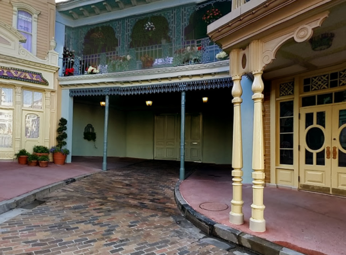 As private as you can get near Main Street U.S.A. - Photo © Google Maps