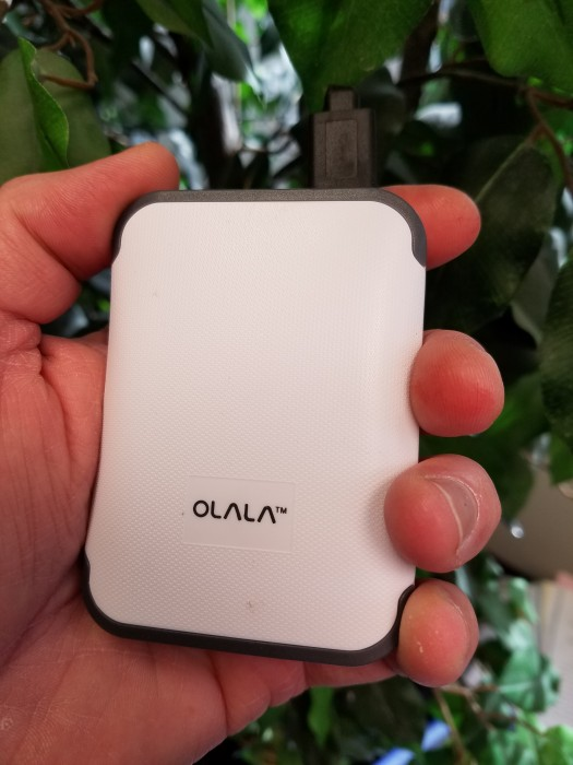 Manageable size is an important quality of a charger you'll be carrying around all day