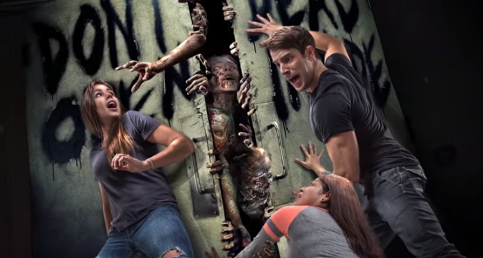 The Walking Dead Attraction concept art at Unviersal Studios Hollywood