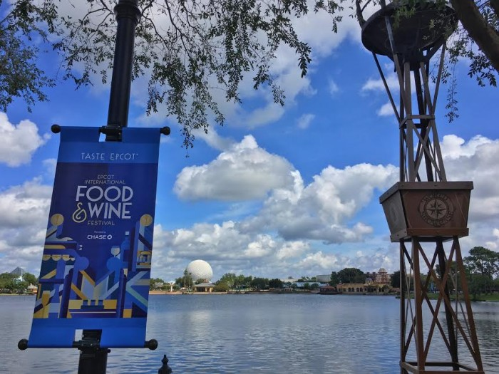 A view of Epcot during this year's festival