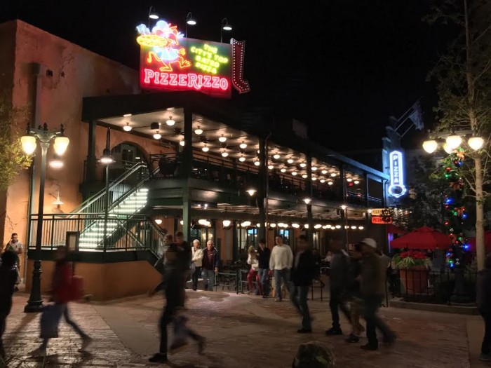 PizzeRizzo takes over the former Pizza Planet space in the new Muppets Courtyard area of Disney's Hollywood Studios.