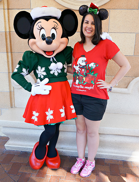 Christmas Minnie Mouse Disneyland.Holiday Characters At Disneyland Touringplans Com Blog