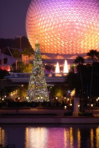 Holidays at Epcot ©Disney