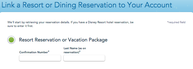 When you set up your resort reservation, be sure to enter everyone's names and ages correctly. This will matter when buying tickets and making FastPass+.