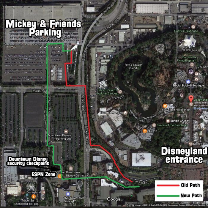 Everything You Need To Know About Disneyland's New Security ... on