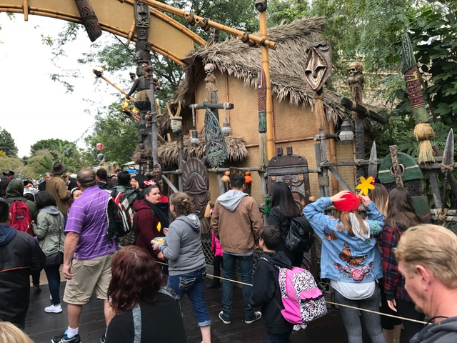 The line for Dole Whip at Disneyland can get enormous - Photo Guy Selga