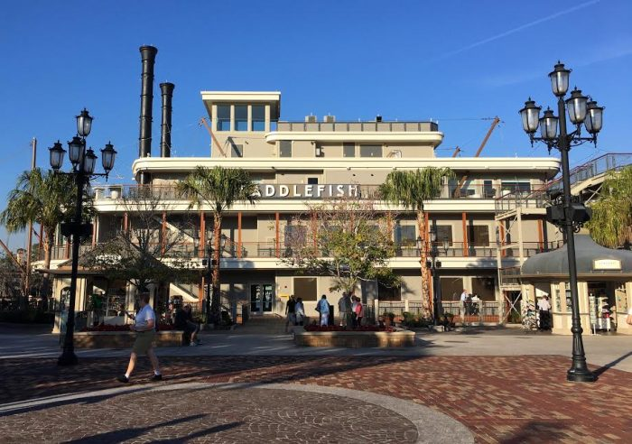 The exterior of the newly-revamped Paddlefish
