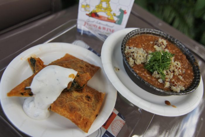 Africa's Spicy Ethiopian Red Lentil Stew and Spinach and Paneer Cheese Pockets