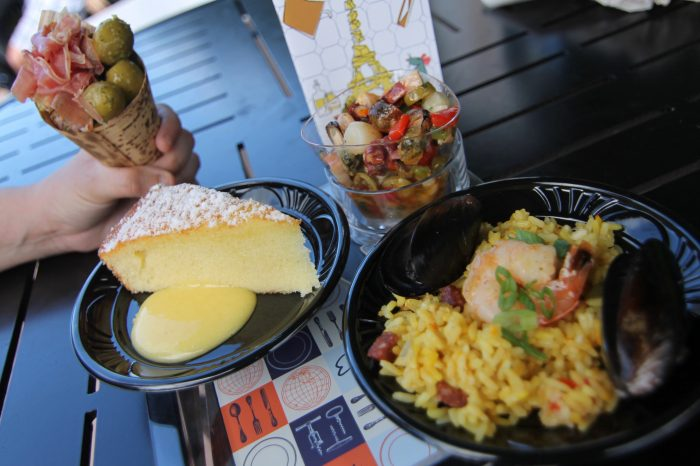 Spain's Charcuterie in a Cone, Olive Oil Cake, Seafood Salad, and Paella