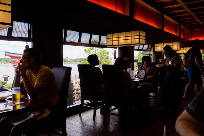 Tokyo Dining view