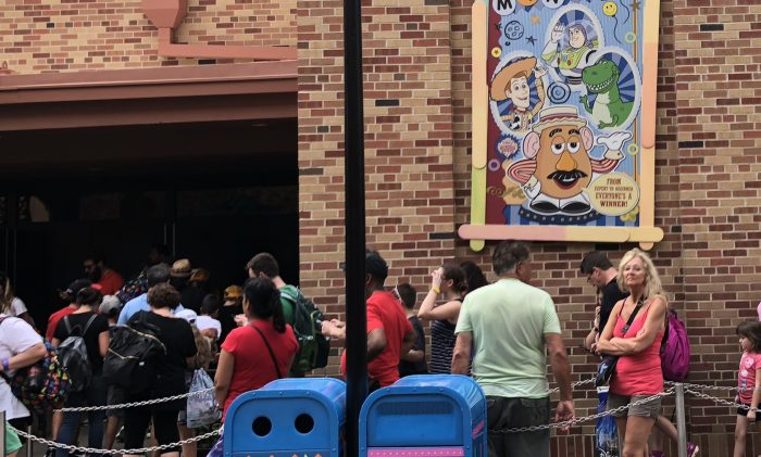 Toy Story Mania Line
