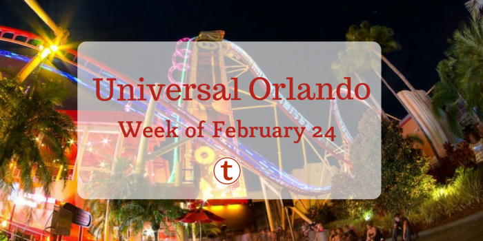 Universal Orlando Preview Week Of February 24 2018 Touringplans