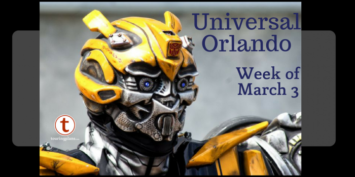 Universal Orlando Preview Week Of March 3 2018 Touringplans Com