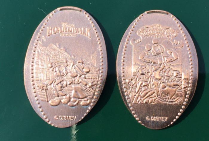 Splash Mountain Magic Kingdom Collection Of Six All Copper Pressed Pennies