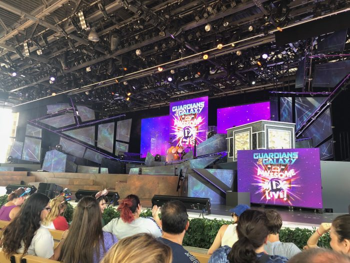 Guardians of the Galaxy Awesome Mix Tape Live Epcot